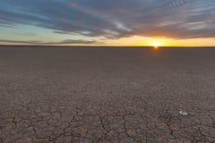 Koopan solnedgång Arkivfoton