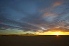 Koopan solnedgång Fotografering för Bildbyråer
