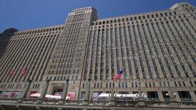 Koopwaar Mart Building in Chicago Van de binnenstad - CHICAGO VERENIGDE STATEN - JUNI 11, 2019 stock videobeelden