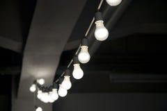 Koord van lightbulbs Stock Afbeelding