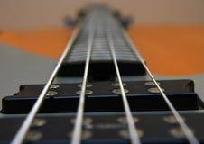 Koorden op een gitaar Royalty-vrije Stock Afbeeldingen