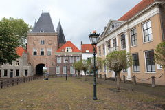 Koornmarkts gate in Kampen Royalty Free Stock Image