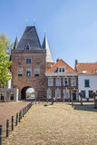 Koornmarktspoort in the historical center of Kampen Stock Photo