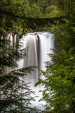 Koosah Falls. Oregon. Along The McKenzie River on Hwy 126 royalty free stock images