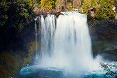 Koosah Spada na McKenzie rzece w Oregon Zdjęcie Royalty Free