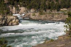 Kootenai Falls Stock Image