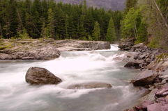 The Kootenai river. Royalty Free Stock Photo