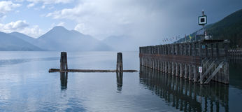 kootenay озеро стоковая фотография
