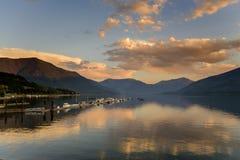 kootenay jezioro Obrazy Royalty Free