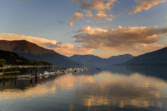 kootenay lake Royaltyfria Bilder