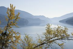 Kootenay Lake, British Columbia, Canada Stock Photos