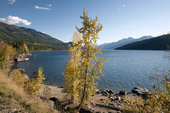 Kootenay Lake and Purcell Mountains Stock Photos
