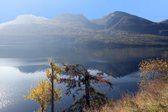 Kootenay Lake and Purcell Mountains Royalty Free Stock Images