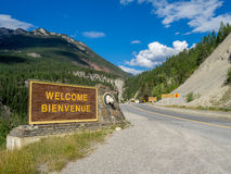 Kootenay National Park Royalty Free Stock Photos