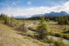 Kootenay nationalpark, British Columbia, Kanada arkivfoton