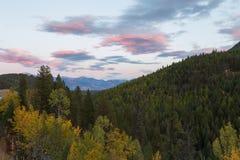 Kootenay Rocky Mountains Imagen de archivo libre de regalías