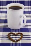 Kop 1 van de koffie stock fotografie