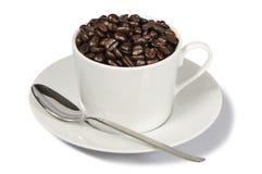 Kop Bonen van de Koffie Royalty-vrije Stock Foto