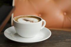 Kop Cappuccino's Royalty-vrije Stock Fotografie