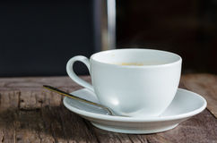 Kop en koffie Stock Foto