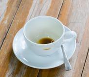 Kop en koffie Royalty-vrije Stock Afbeelding