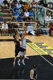 Kop FIBA Trentino: Italië versus Canada stock afbeeldingen