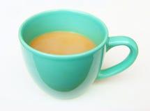 Kop hete koffie Stock Afbeelding