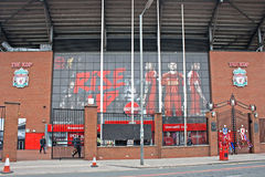 The Kop Liverpool Football Club Stock Image