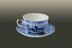 Kop met een blauw patroon Royalty-vrije Stock Afbeeldingen