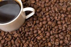Kop met koffie Stock Afbeeldingen