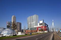 Kop skåpbil Zuid i Rotterdam royaltyfri foto