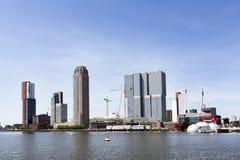 Kop skåpbil Zuid område i Rotterdam Arkivbild