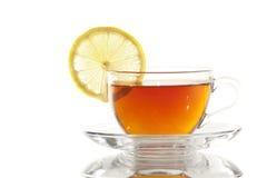 Kop thee met Citroen/Theekopje Stock Fotografie
