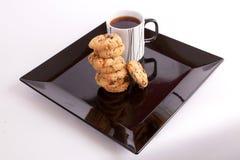 Kop thee met koekjes Stock Fotografie