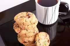 Kop thee met koekjes Stock Afbeelding