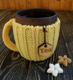 Kop thee met suiker Stock Afbeeldingen
