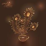 Kop van Arabische koffie Royalty-vrije Stock Foto