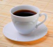Kop van aromatische koffie Stock Foto's