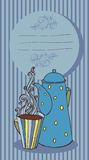 kop van aromatische thee royalty-vrije illustratie