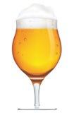 Kop van bier Stock Foto's