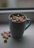 Kop van cacao Royalty-vrije Stock Afbeelding