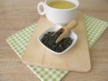 Kop van chun mee groene thee Royalty-vrije Stock Afbeelding