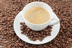 Kop van cofee Stock Foto's