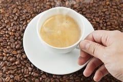 Kop van cofee Royalty-vrije Stock Afbeeldingen