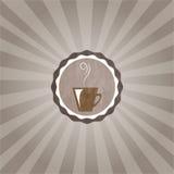 Kop van coffe stock illustratie