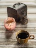 Kop van coffe Stock Foto's