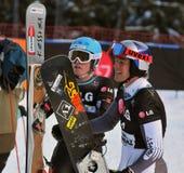 Kop van de Wereld van Snowboard de Reuze Parallelle 2010 Stock Afbeeldingen