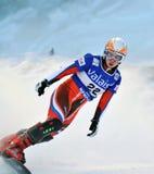 Kop van de Wereld van Snowboard de Reuze Parallelle 2010 Stock Fotografie