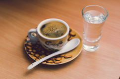 Kop van espresso Royalty-vrije Stock Foto's
