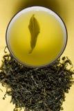 Kop van groene thee Stock Fotografie